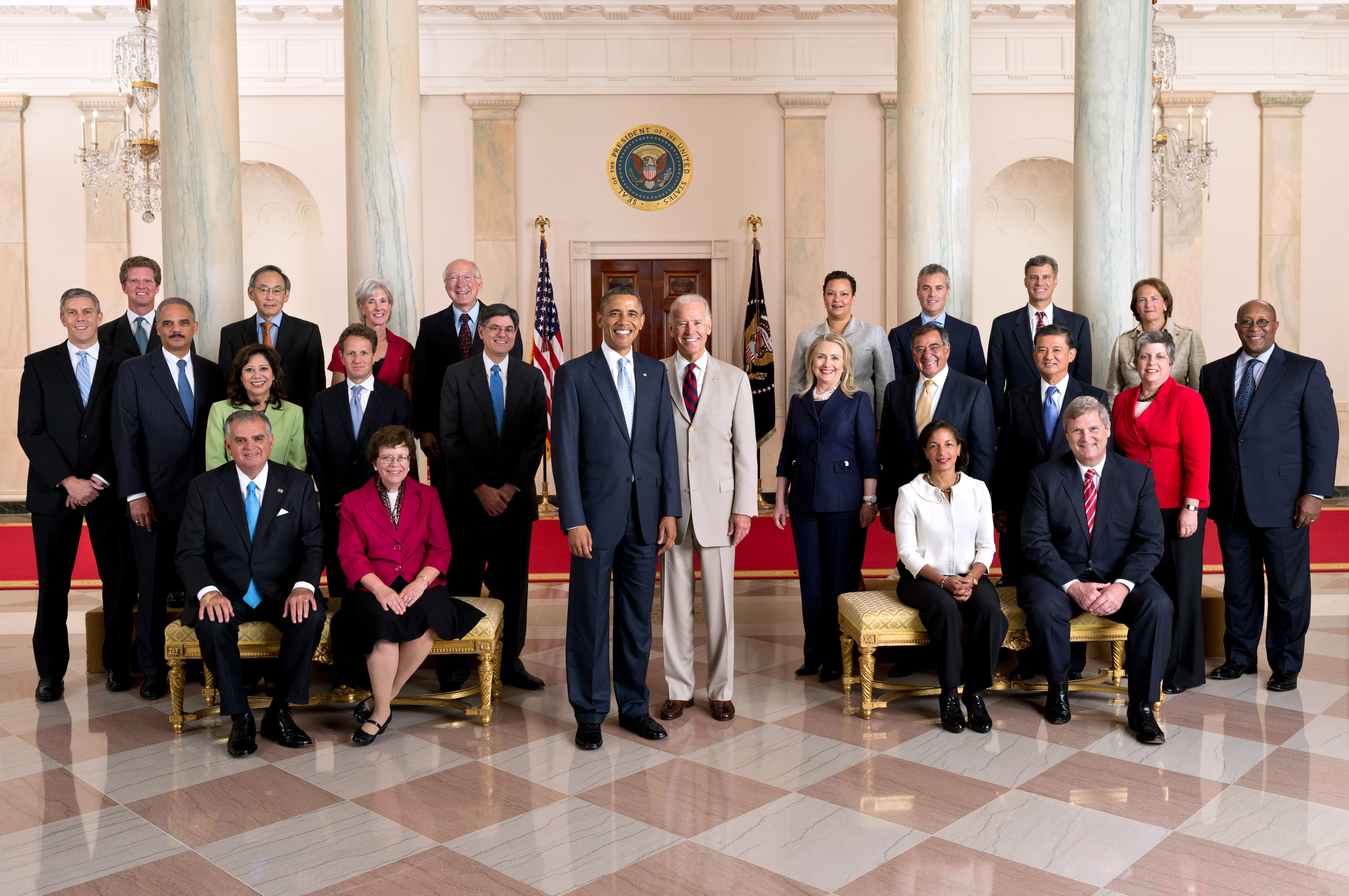 Official Cabinet Photo