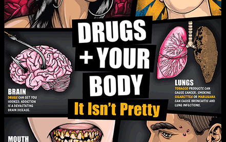 Click here to see the publication Drugs + Your Body: It Isn't Pretty (Teaching Guide) Poster