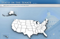 Image: Screenshot of the States in the Senate homepage.
