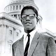 Frank Mitchell, first African-American [House] Page