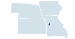 Region 7 covering Iowa, Kansas, Missouri, Nebraska