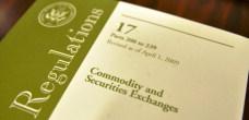 CFTC Federal Regulations Cover