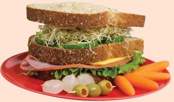 Produce seguridad: sándwich