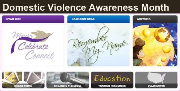 Domestic Violence Awareness Month 2012