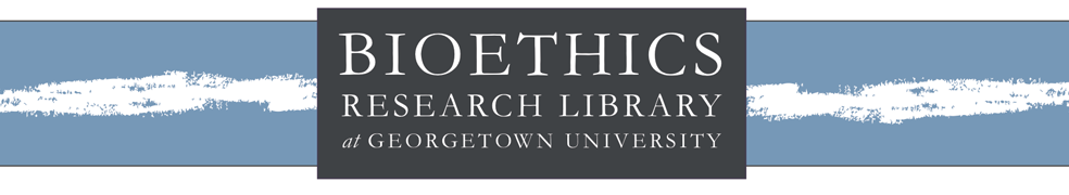 The Bioethics Research Library
