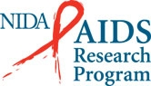 NIDA AIDS research program logo