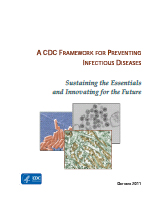 Cover: A CDC Framework for Preventing Infectious Diseases