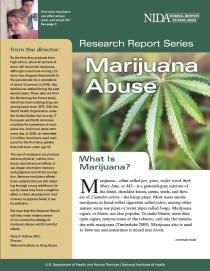 Publication: Research Report Series - Marijuana Abuse