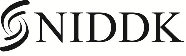 NIDDK Logo - Knockout Black Acronym HighRes