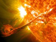SDO Sees Massive Filament Eruption