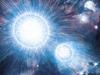 artist concept of binary stars