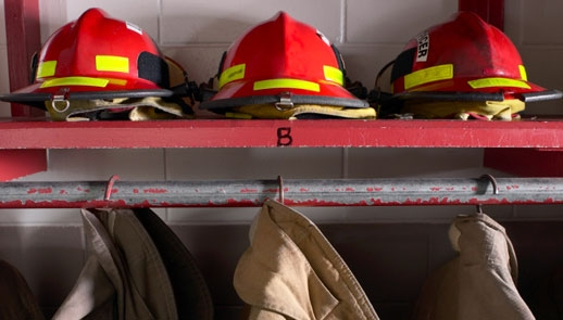 image of firefighter gear.