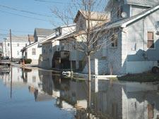 Flooding during Hurricane Katrina