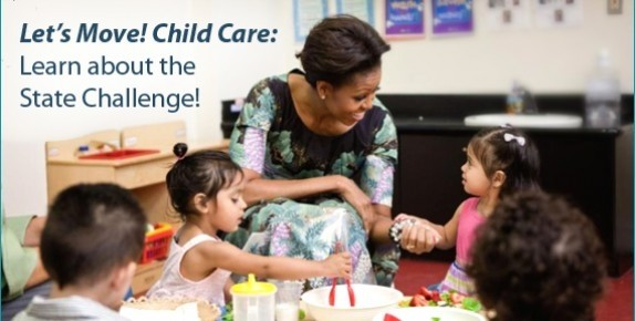Let's Move! Child Care: Learn about the State Challenge