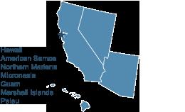 Map of Region 9