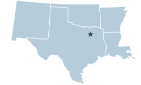 Region 6 covering Arkansas, Louisiana, New Mexico, Oklahoma, Texas