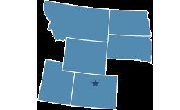 Region 8 covering Colorado, Montana, North Dakota, South Dakota, Utah, Wyoming