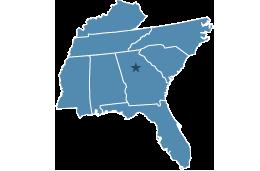 Region 4 covering Alabama, Mississippi, Florida, North Carolina, Georgia, South Carolina, Kentucky, Tennessee