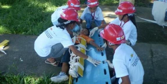 Children Helping in Disaster Relief