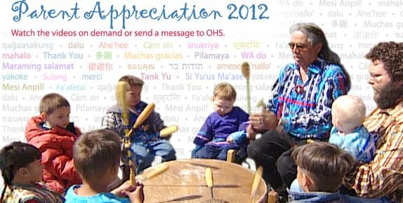 Parent Appreciation 2012: May 29 - June 1