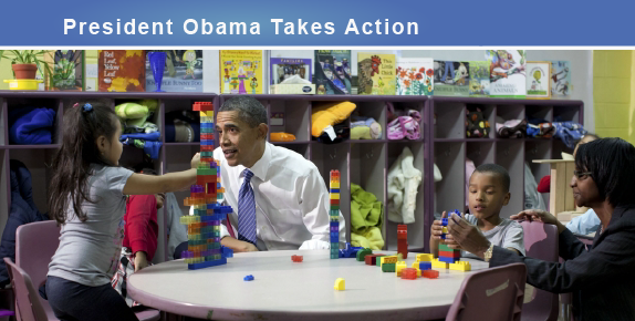 obama kids class table