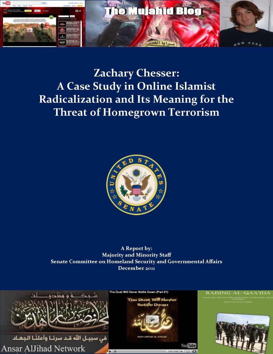 Zachary Chesser: A Case Study in Online Islamist Radicalization