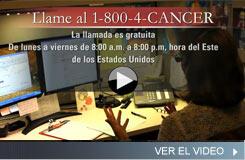 Video del Servicio de Información sobre el Cáncer del NCI