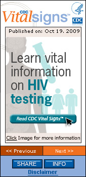 CDC Vital Signs. Flash Player 9 or above is required.