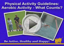 what counts as aerobic activity