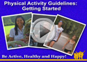 Aerobic activity - what counts? video