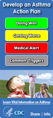 Develop an Asthma Action Plan Widget. Flash Player 9 or above is required.