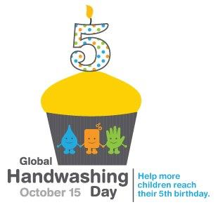 Photo: Today is Global Handwashing Day! Celebrate with over 200 million people around the world. #iwashmyhands http://is.gd/WzTcso