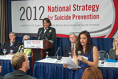 2012 National Strategy for Suicide Prevention Press Event
