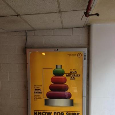 Photo: Out and about in DC, saw NHTSA's poster at 13th and E St NW.