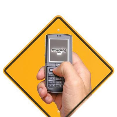 Photo: Your job needs you more than your phone does. Don't text and drive!