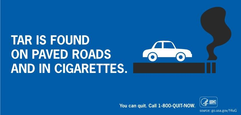 Photo: Tobacco smoke is a toxic mix of more than 7,000 chemicals & compounds, including tar. What's in your lungs? http://go.usa.gov/Yjgx