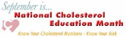 Photo: Cholesterol Education Month if almost over! Share this post if you've made an effort to learn about your cholesterol risk this month.
