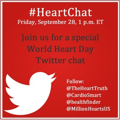 Photo: What motivates you to protect your heart?  Join our #HeartChat Twitter chat on Friday at 1 p.m. EST and share you story.
