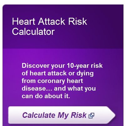 Photo: No one wants to be surprised by a heart attack. Thanks to our partners at American Heart Association you can simply plug your numbers into this handy tool to predict your chances of having a heart attack in the next 10 years. http://millionhearts.hhs.gov/resources/tools.html