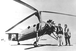 Autogiros were introduced into service by the Border Patrol on the eve of World War II. Chief W.F. Kelly, who was also amateur pilot, was instrumental in securing these experimental aircrafts for Border Patrol use.