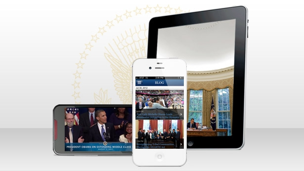 With the relaunch of the entire White House mobile program, it's easier than eve