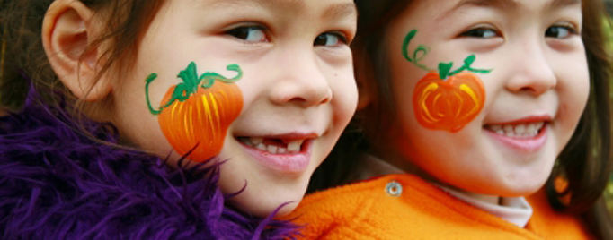 Novelty Makeup: Halloween Special for Parents & Kids
