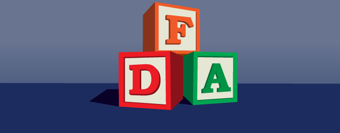 FDA spelled out in building blocks