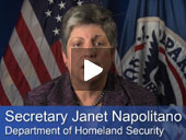 Secretary Napolitano's Cybersecurity Message