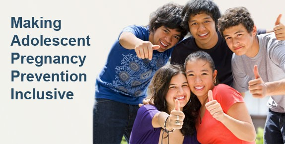 Making Adolescent Pregnancy Prevention Inclusive