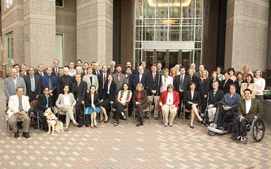 Group photo of the Telecommunications and Electronic and Information Technology Advisory Committee
