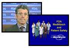 MedWatch tutorial screenshots