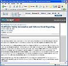 screenshot of Medscape article