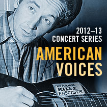 2012-2013 Concert Series American Voices