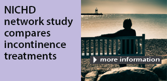 News Release: Study shows benefits, drawbacks, for women?s incontinence treatments